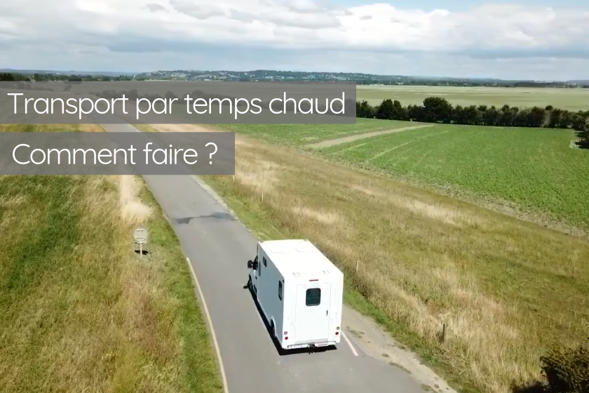 Fortes chaleurs, quels impacts sur le transport ?